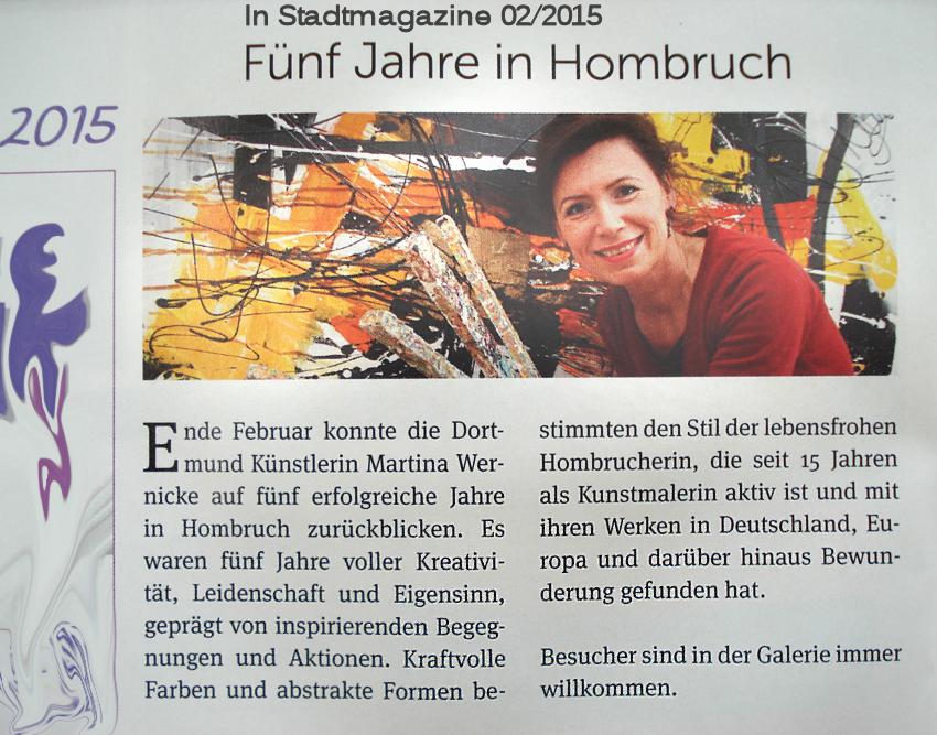 2015.3 Jahrestag In Stadtmagazine